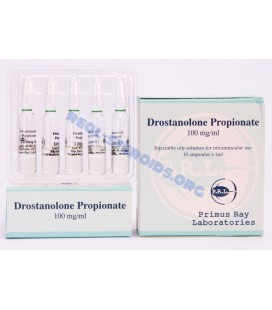 Drostanolone Propionate Primus Ray 10X1ML [100mg/ml]