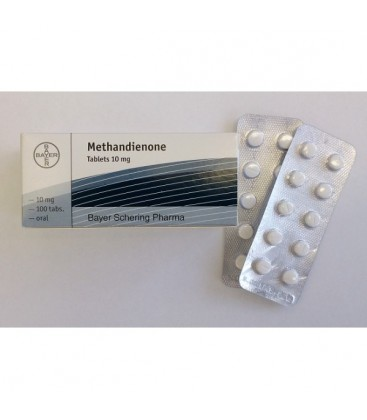 Methandienone 10 Bayer Pharmaceuticals 100 tablets [10mg/tab]
