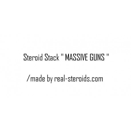 "Steroid Cycle "" MASSIVE GUNS """