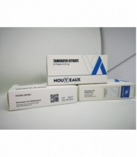 Citrato de tamoxifeno [Nolvadex] Nouveaux Ltd 100 tabletas de 20 mg