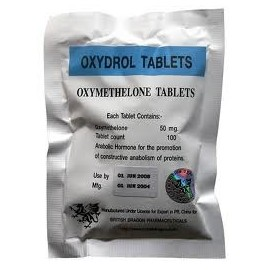 Oxydrol 50 ( Anadrol, Androlic, Oxymetholone ) British Dragon Pharmacy 100 tabs