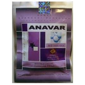 Anavar 10mg China Hubei Pharmacy ( Oxandrolone ) 50 tabs