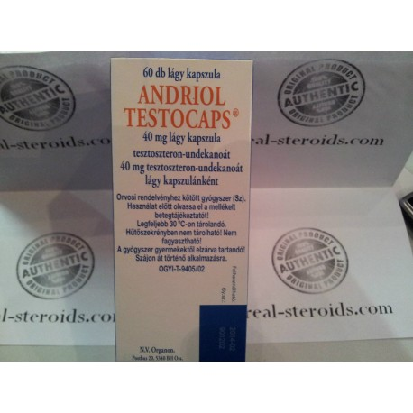 Andriol (Restandol,Testosterone undecanoate) Organon 60 caps (40mg/tab)