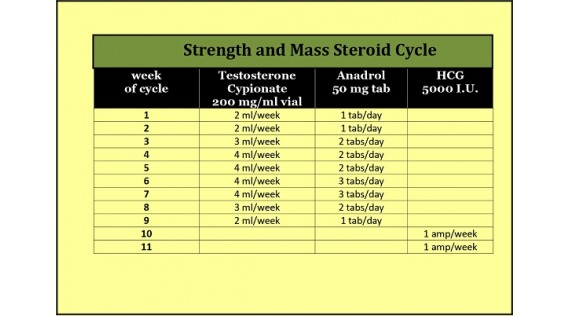 Popular Steroid Compounds to use in a Mass & Strength Steroid Cycle