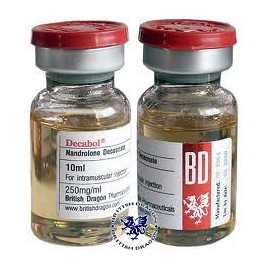 Decabol 250 British Dragon Pharmacy ( Nandrolone Decanoate, Deca ) 10ml bottle
