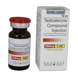 Sustanon 250ml ( Testosterone mix, Testosterone Compound ) 10ml bottle Genesis Pharma 250mg/1ml