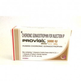 HCG PROVIGIL 5000 IU (SUBSTANCE + WATER )